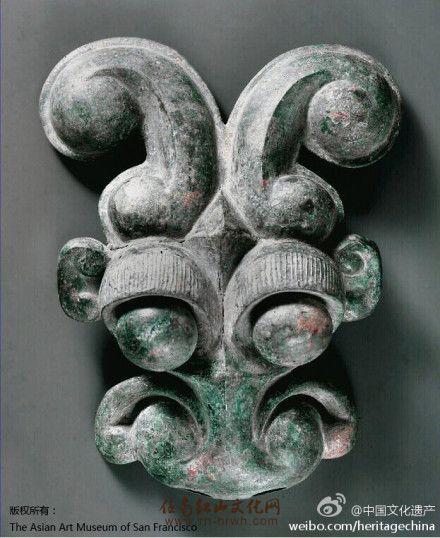东周青铜面具