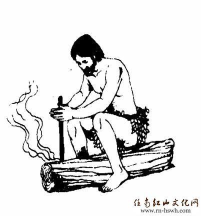 结合钻木取火的方式方法