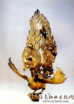 5厘米,1976年云南省大理市宗圣寺三塔主塔塔顶发现,云南省博物馆藏.
